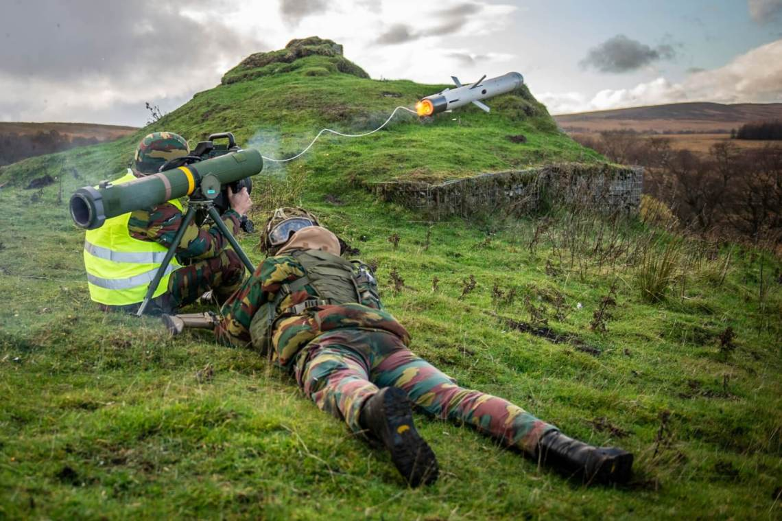 German Army completes European SPIKE LR firing campaign