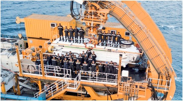 Indian Navy Deep Submergence Rescue Vehicle (DSRV) inducted Mumbai (Photo Indian Navy)