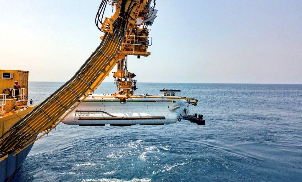 Indian Navy DSRV successfully conducts first submarine rescue trial