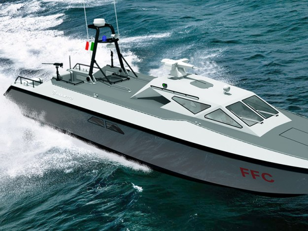 Baglietto Navy FCC Combat Boat