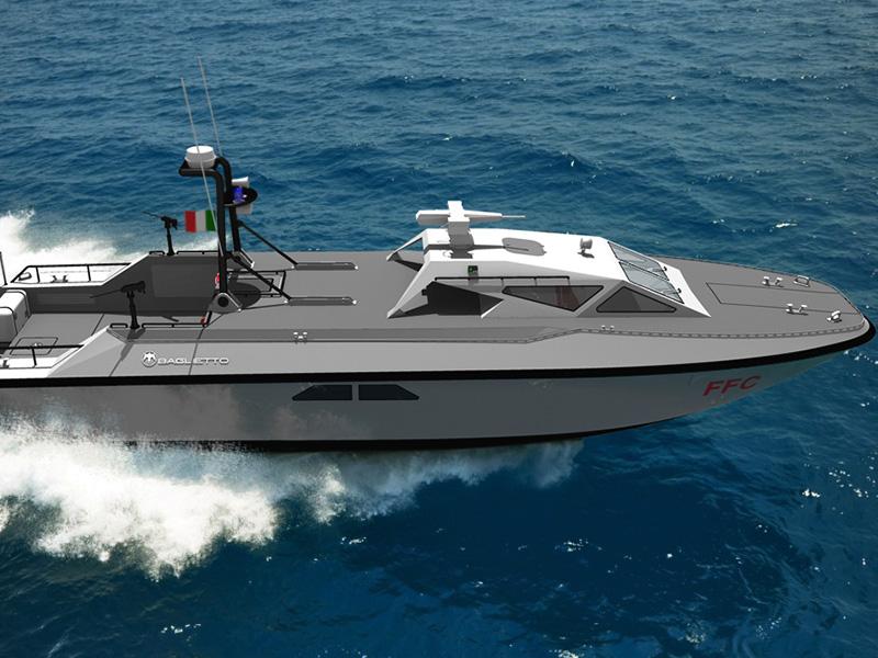 Italian Navy selects Baglietto Navy to produce FCC Combat Boat