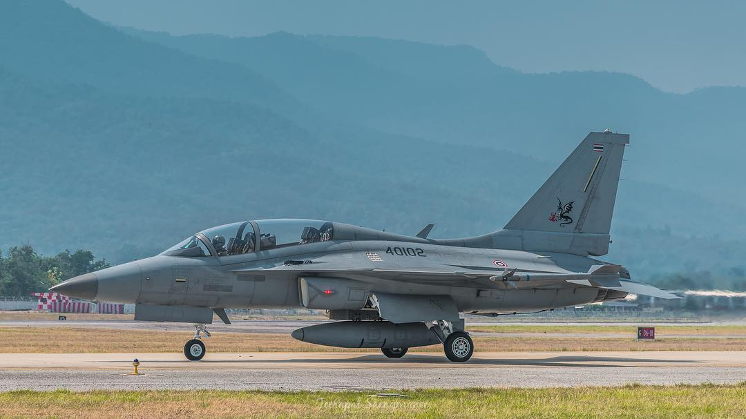 Royal Thai Air Force T-50TH Golden Eagle supersonic advanced jet trainer