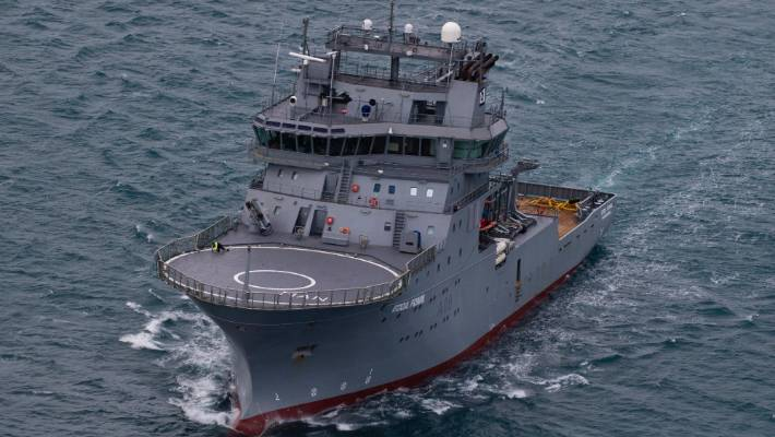 HMNZS Manawanui multi-role offshore support