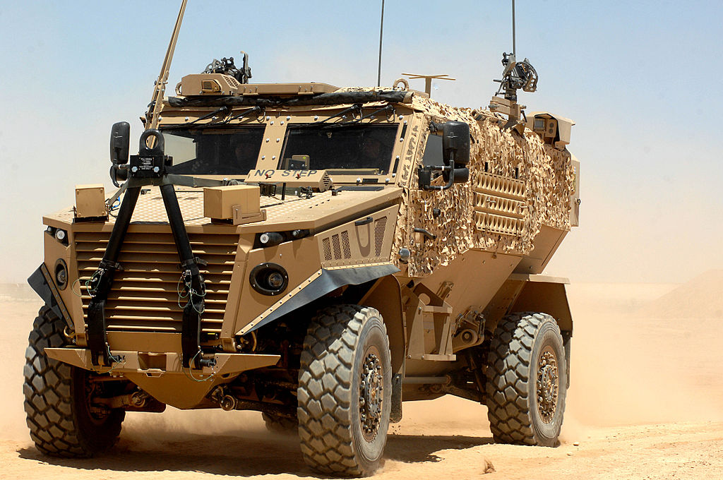 Ocelot Light Protected Patrol Vehicle