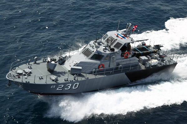 Royal Thai Navy Marsun M21 Patrol Boat