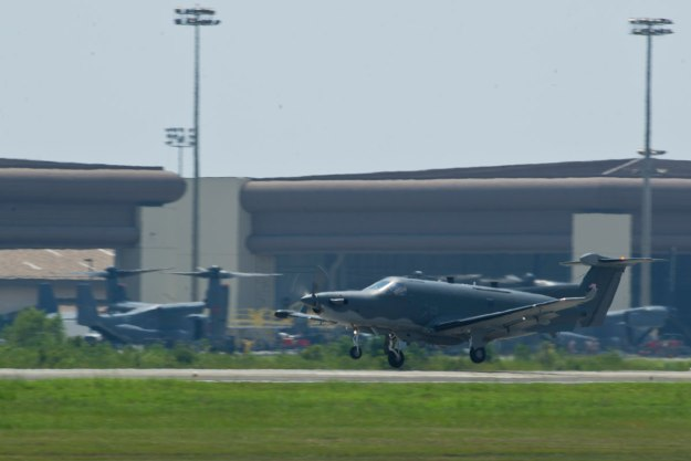 AFSOC U-28A Draco Intelligence Surveillance and Reconnaissance Aircraft