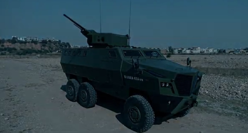 Hamza 6x6 MCV Armoured Vehicle