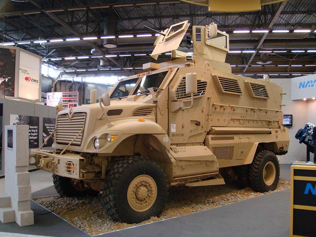 International MaxxPro MRAP Mine Resistant Ambush Protected