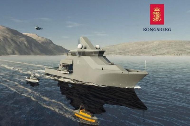 Kongsberg Vanguard Multipurpose Ship Design