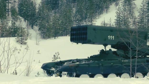 TOS-1A Solntsepyok Multiple Rocket Launcher