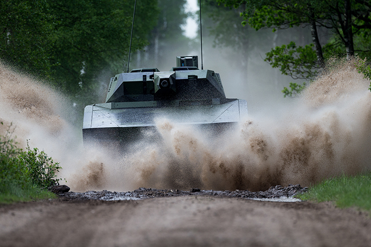 Rheinmetall Lynx KF41 infantry fighting vehicle