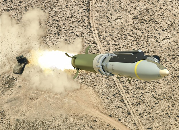 Saab and Boeing Conduct Successful Test Firing of Ground-Launched Small Diameter Bomb