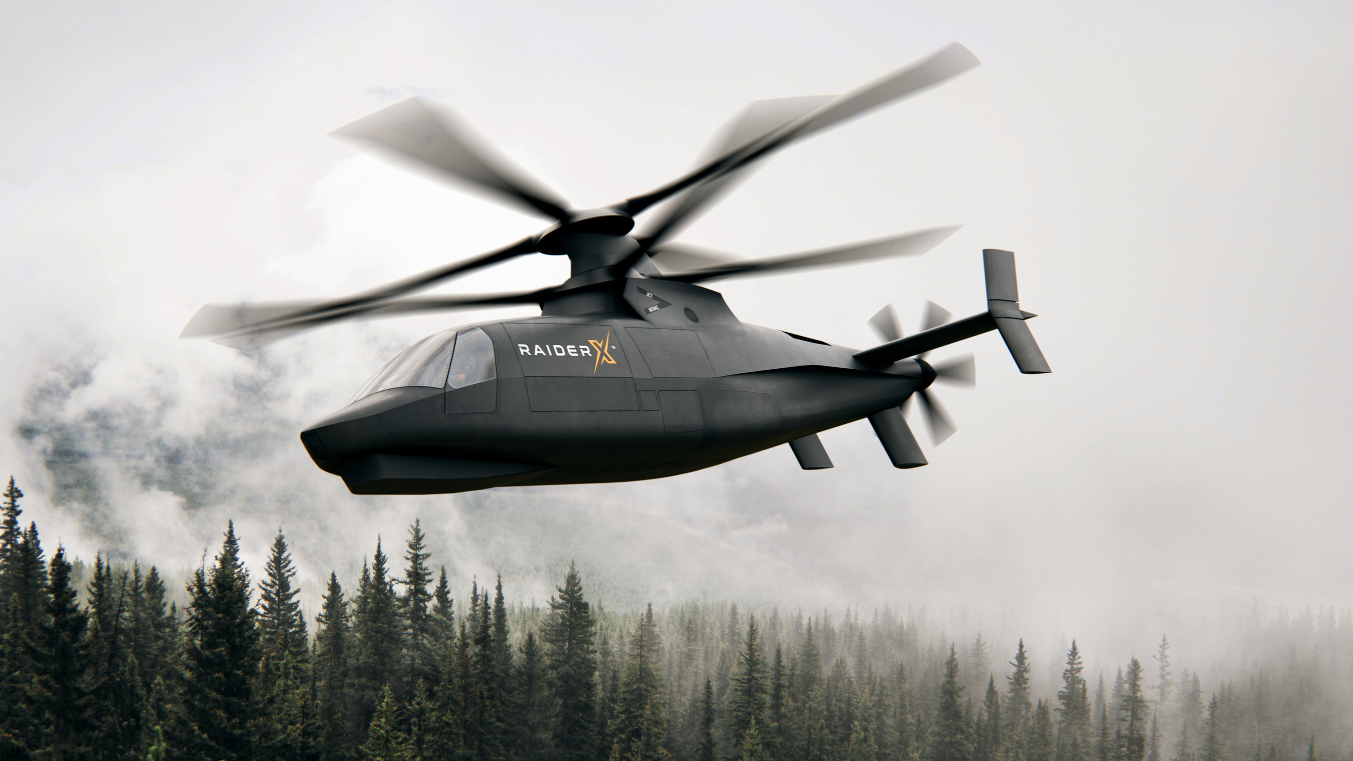 Sikorsky Introduces RAIDER X™, A NextGen Light-Attack Reconnaissance Helicopter Based On Its Proven X2 Technology