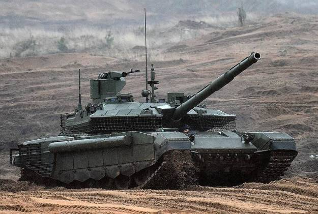 Russian Army Gets First New T-90M Proryv-3 Tanks