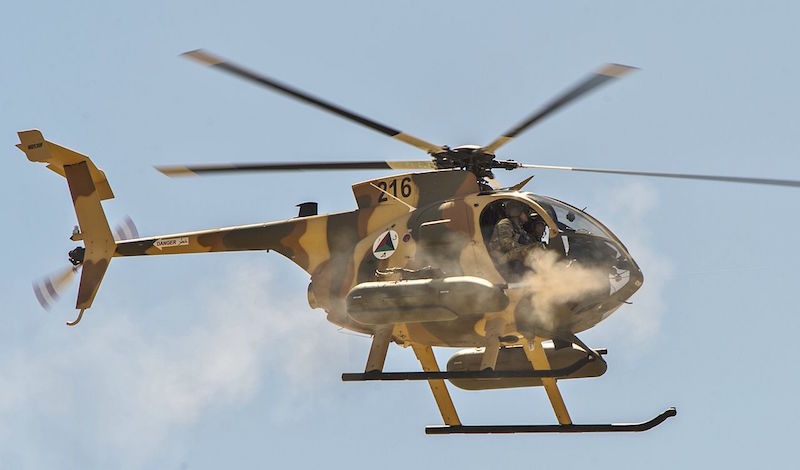 Afghan Air Force Orders 12 Additional MD 530F Cayuse Warrior Helicopters