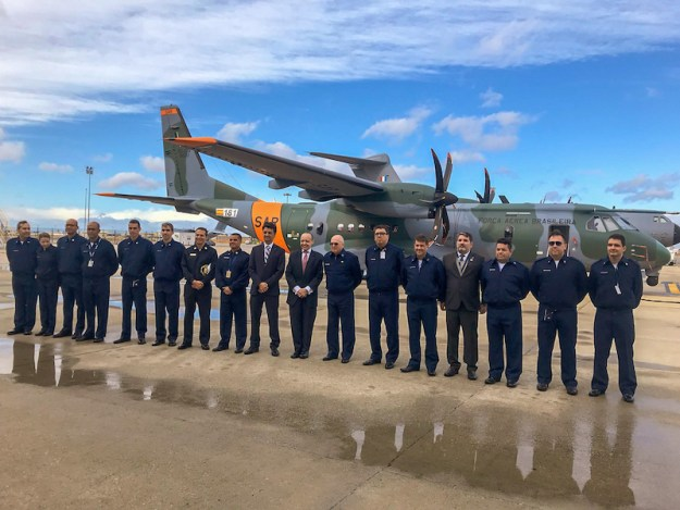 Brazilian Air Force Receives Second C-295 SAR Aircraft