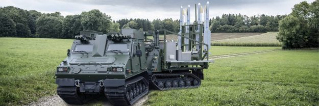 IRIS-T SLS short-range air-defence system