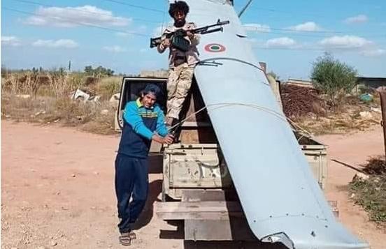 Italian Predator RPAS Shot Down Over Libya