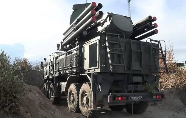 Pantsyr-S missile system