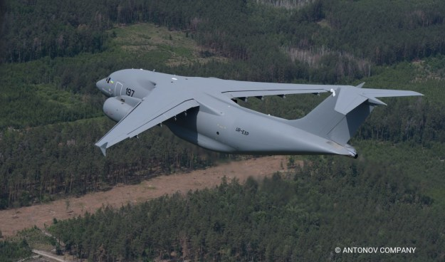 Antonov An-178 medium transport aircraft