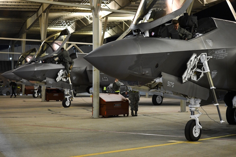 USAF Deploys F-35 Squadron to UAE for Second Time This Year