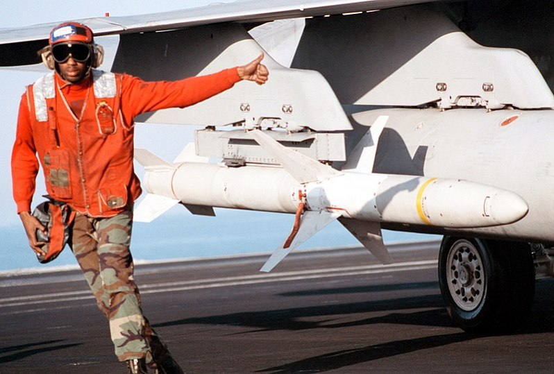 The Advanced Anti-Radiation Guided Missile (AGM-88E) provides the U.S. Navy, U.S. Marine Corps and Italian Air Force the latest and most advanced weapon system for engaging and destroying enemy air defenses and time-critical, mobile targets.
