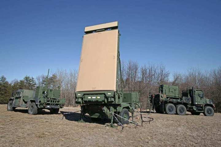 US Marine Corps AN/TPS-80 Ground/Air Task Oriented Radar (G/ATOR)