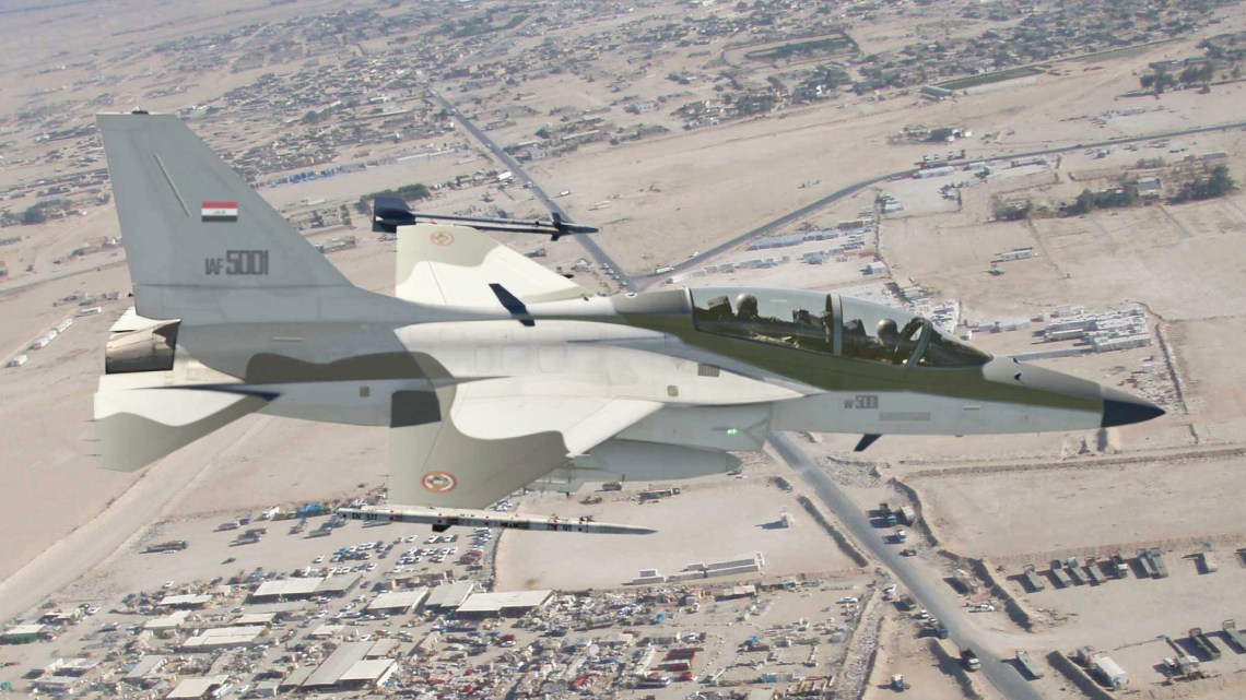 Iraqi Air Force receives final KAI T-50IQ Fighting Eagle
