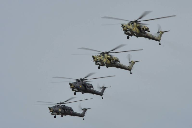The Mi-28NE Night Hunter is a modern attack helicopter designed to carry out search and destroy operations against tanks, armoured and un-armoured vehicles, and enemy personnel in combat, as well as low-speed airborne targets. It can operate night and day, and in adverse weather conditions.