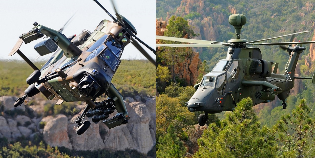 Airbus Tiger Attack Helicopters