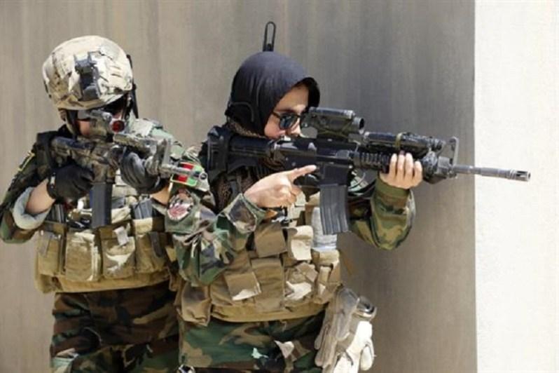 Afghan Female Tactical Platoon