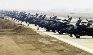 Boeing AH-64E Apache Attack Helicopters