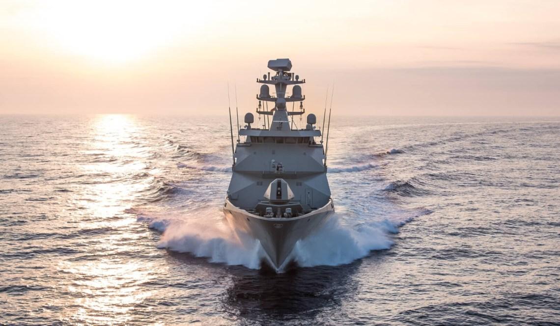 Mexican Navy 107-metre long POLA-class ARM Reformador