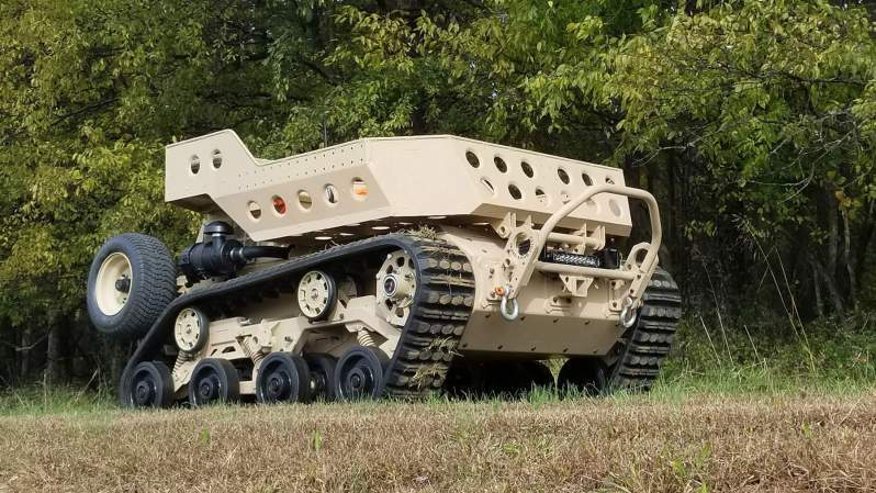 GRIZZLY Small Multi-Purpose Equipment Transport (SMET)