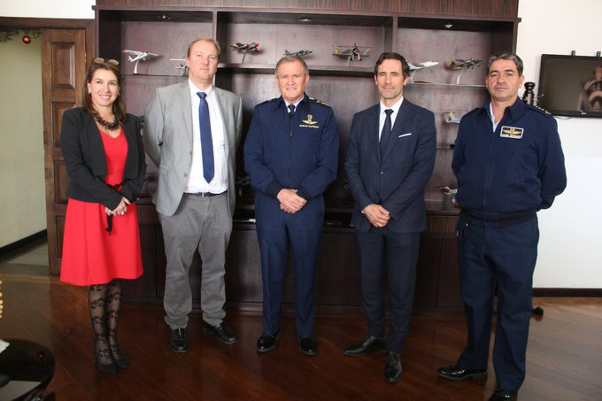 The Ecuadorian Air Force signed a contract with Airbus Helicopters for the purchase of six twin-engine H145M helicopters.