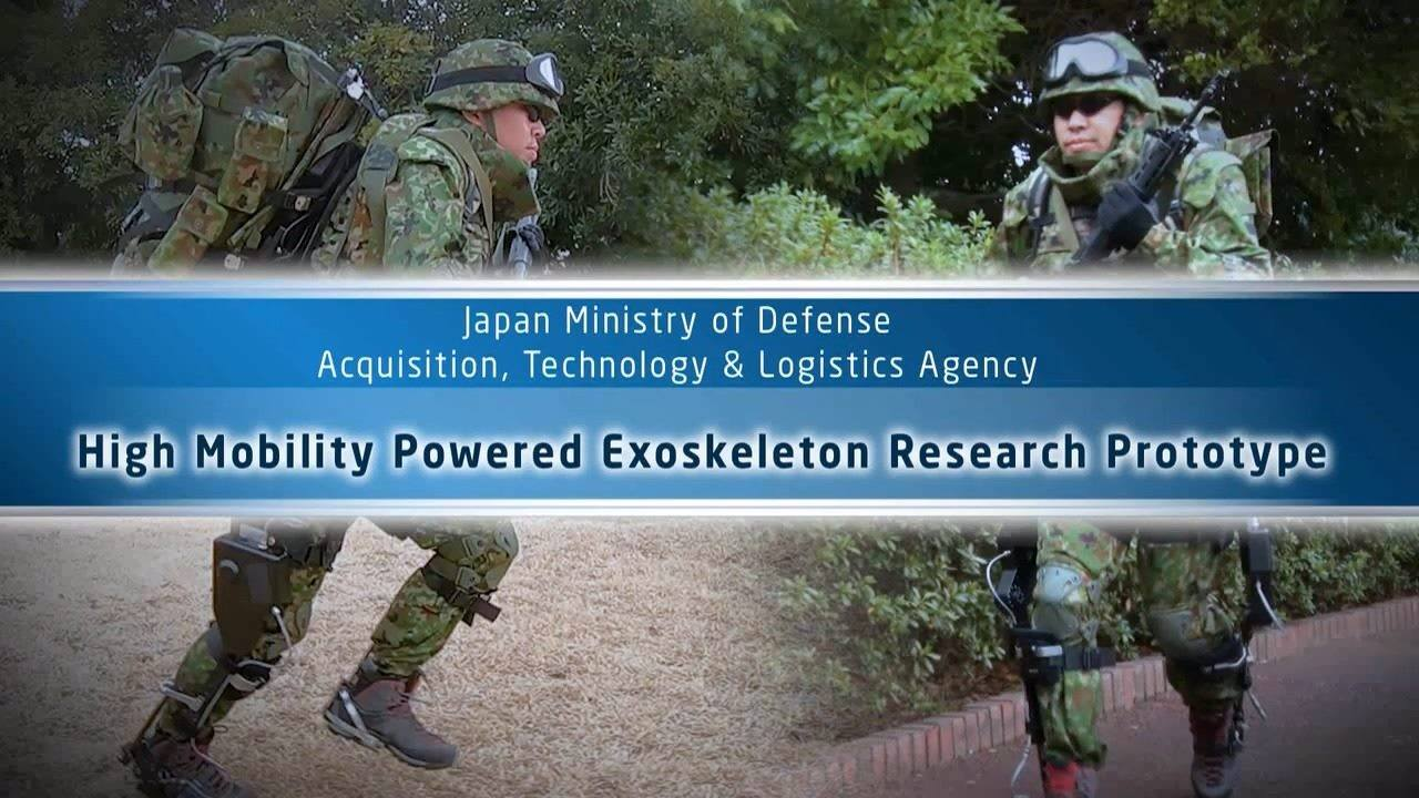 Japan High Mobility Powered Exoskeleton Research Prototype
