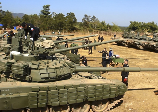 Russia Receives Military Equipment from Lao People's Armed Forces for First-Ever Joint Russian-Laotian Exercise