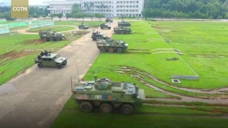 PLA Macao Garrison Conducts Drill to Improve Combat Readiness
