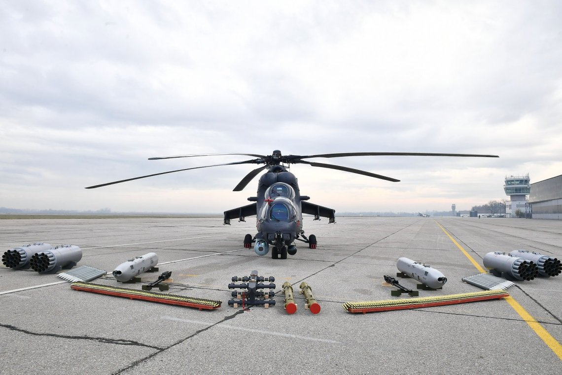 Mi-35M Attack Helicopters