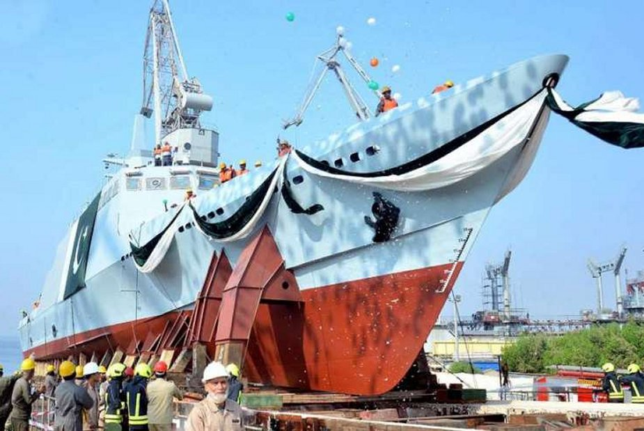 Pakistan Navy Receives FAC(M) - 4 Fast Attack Craft at Karachi Shipyard & Engineering Works Limited