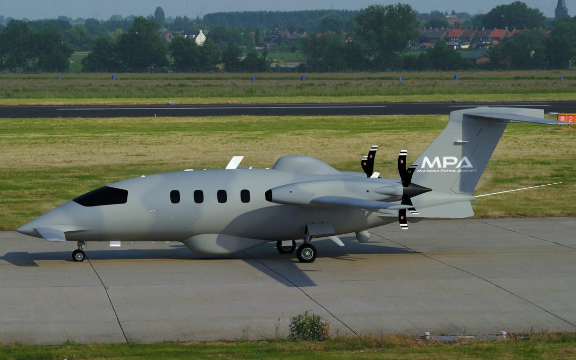 Piaggio Aerospace MPA Multirole Patrol Aircraft