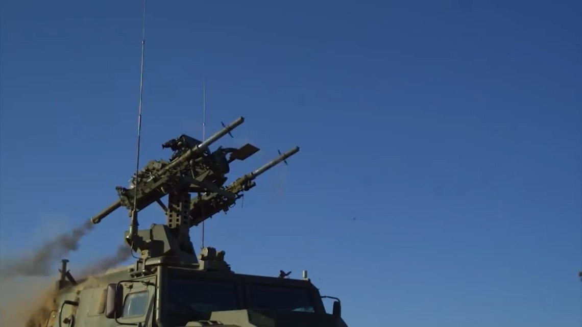 Russian Gibka-S Light Anti-Aircraft System
