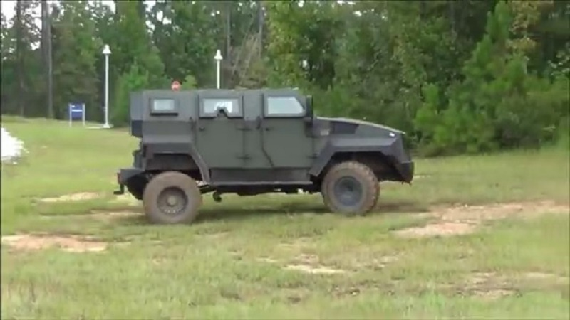 Shladot/MDT Tiger Armored Vehicle
