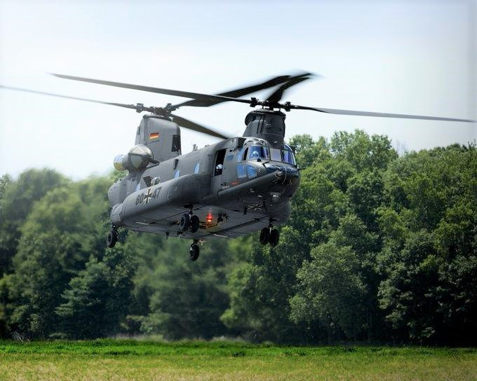 Boeing has offered its CH-47 Chinook to the German Army's tender for a heavy lift helicopter to replace its Sikorsky CH-53Gs, and says that German industry will benefit from opportunities to work on the Chinook and across the Boeing enterprise.
