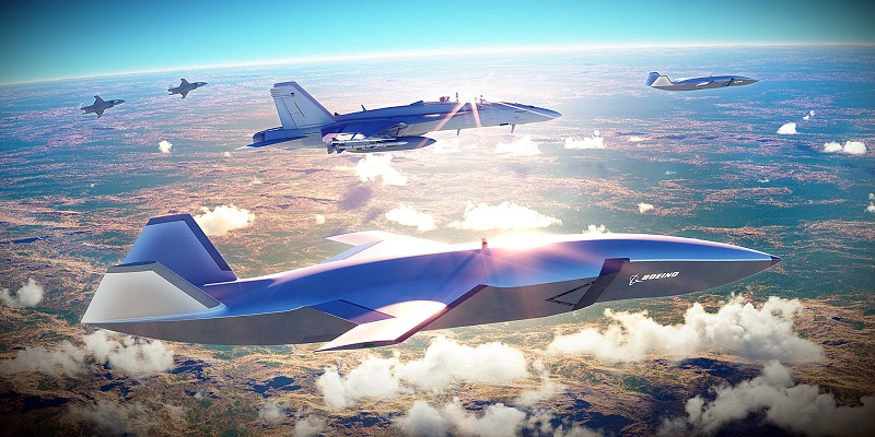 Boeing Australia Loyal Wingman Autonomous Fighter