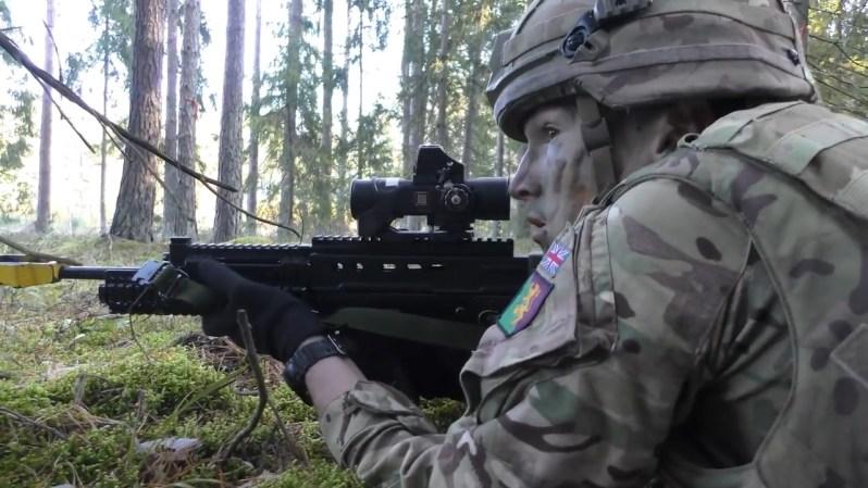 British Army Royal Scots Dragoon Guards (SCOTS DG)