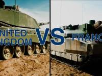 British Challenger 2 and French Leclerc Go Head to Head