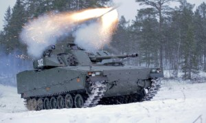 BAE Systems has successfully fired an integrated, long-range anti-tank guided missile from the CV90 Infantry Fighting Vehicle in recent tests.