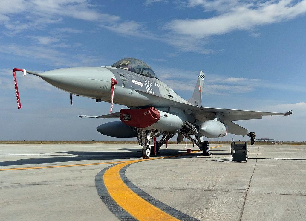 Romanian Air Force Lockheed Martin F-16