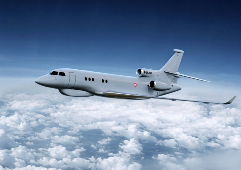 Falcon 8X Archange for France Air Force Strategic Airborne Intelligence Programme